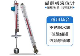 电伴热磁翻板液位计,电伴热型磁翻板液位计厂家